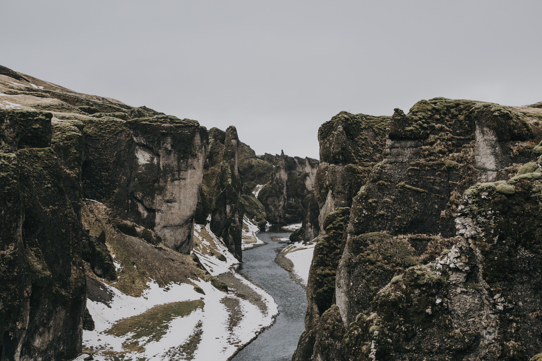 Fjaðrárgljúfur Gorge -0657
